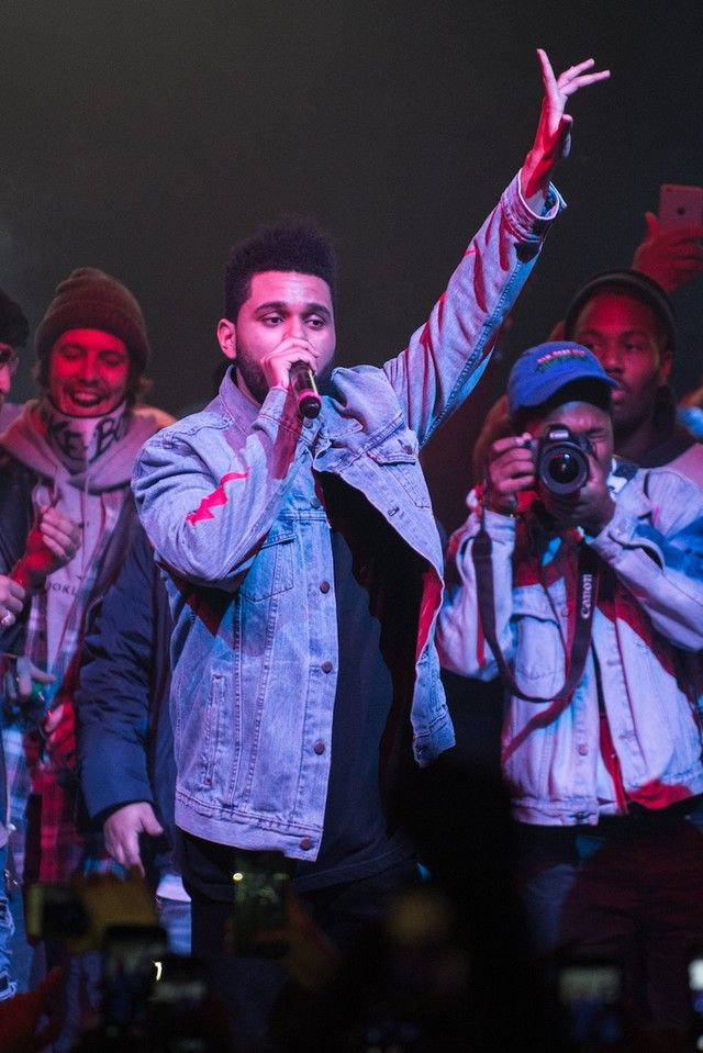 The Weeknd - Performs at Yams Day festival