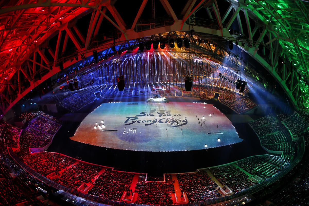 Yahoo Sports Coverage Of The Closing Ceremony Is Presented