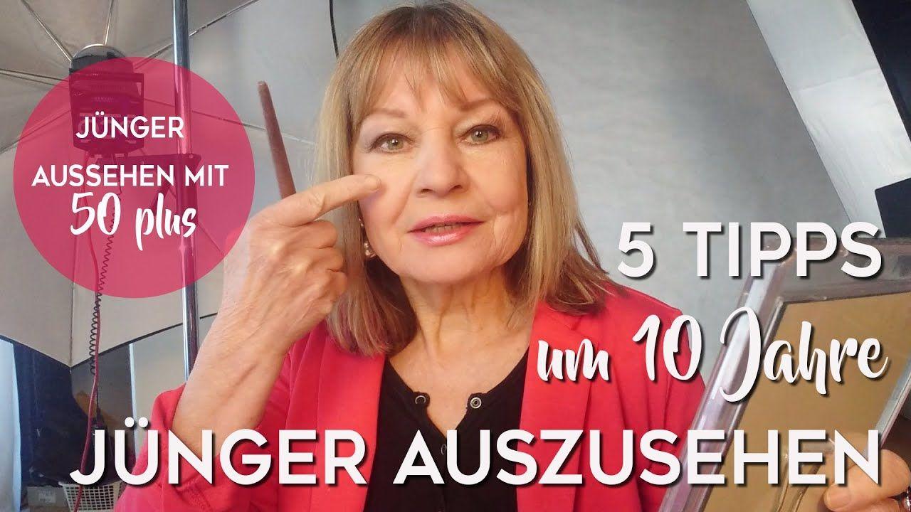 5 Tipps um 10 Jahre Jünger auszusehen ► sofort Jahre jünger auszusehen - YouTube