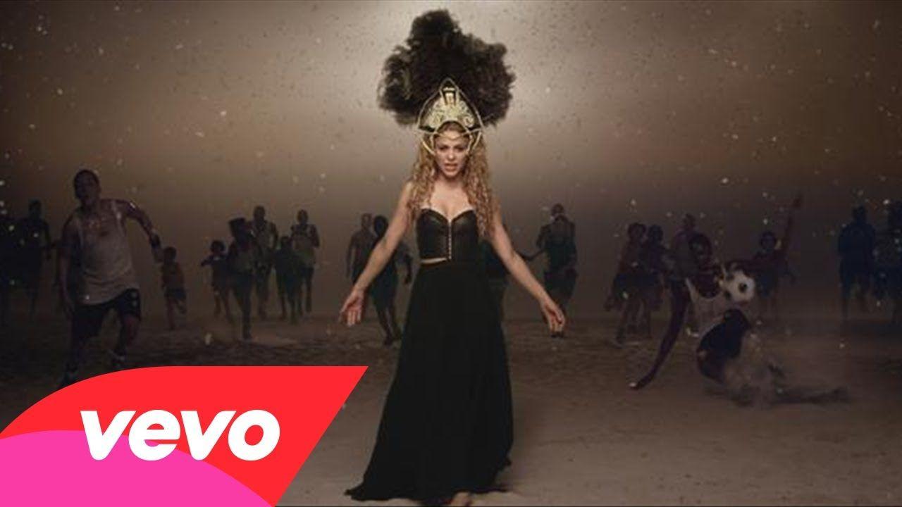 Shakira La La La Brasil 2014 Ft Carlinhos Brown Music Videos Vevo Shakira Music Videos Shakira