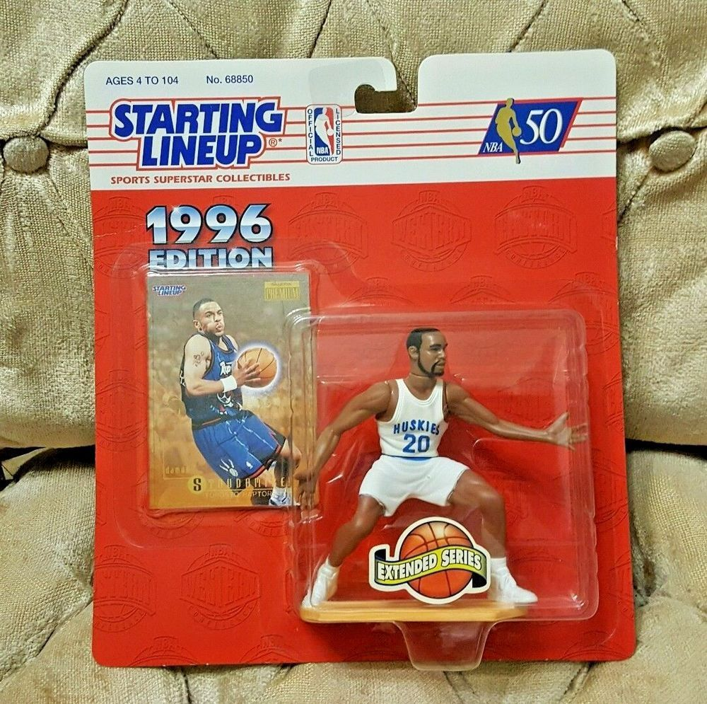 hot sale online 763f0 cf924 Details about DAMON STOUDAMIRE 1996 STARTING LINEUP NEW ...