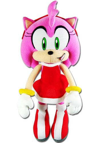 Sonic 9 Plush Amy Sonic Plush Toys Sonic The Hedgehog Amy Rose
