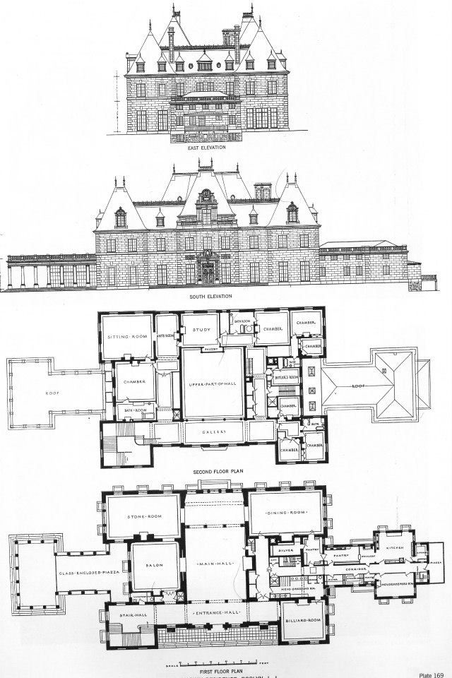 'Harbor Hill', the Clarence and Katherine Mackay estate designed by McKim, Mead & White between 1899 and 1905.