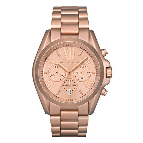 Michael Kors Damen-Armbanduhr XL Chronograph Quarz Edelstahl beschichtet MK5503 | Your #1 Source for Watches and Accessories