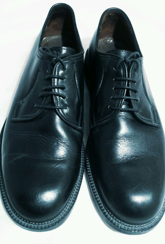 Brooks Brothers Mens Oxford Shoes Black