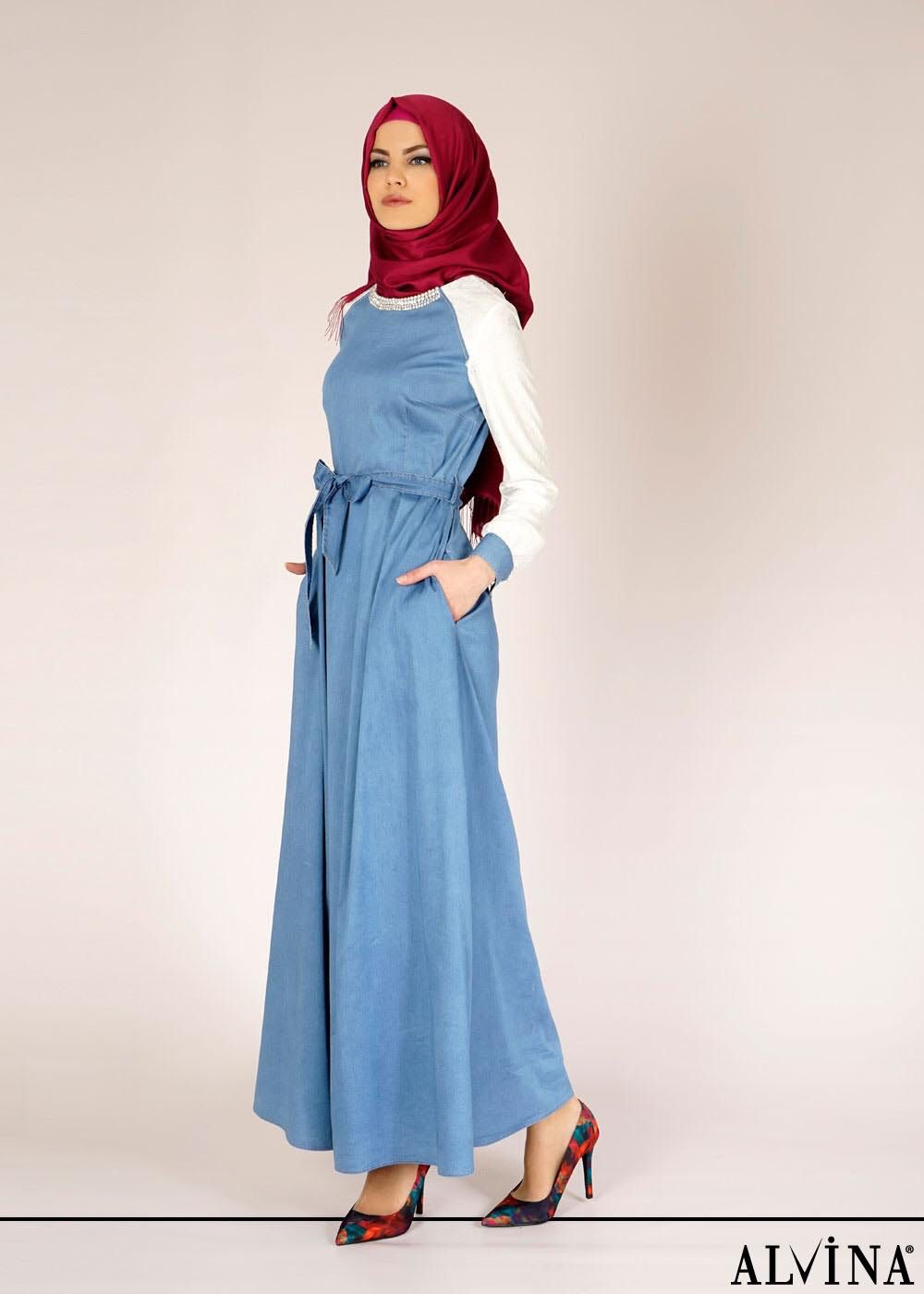 Pin by Banu Coskun on Hijab fashion   Pinterest   Hijabs, Hijab ...