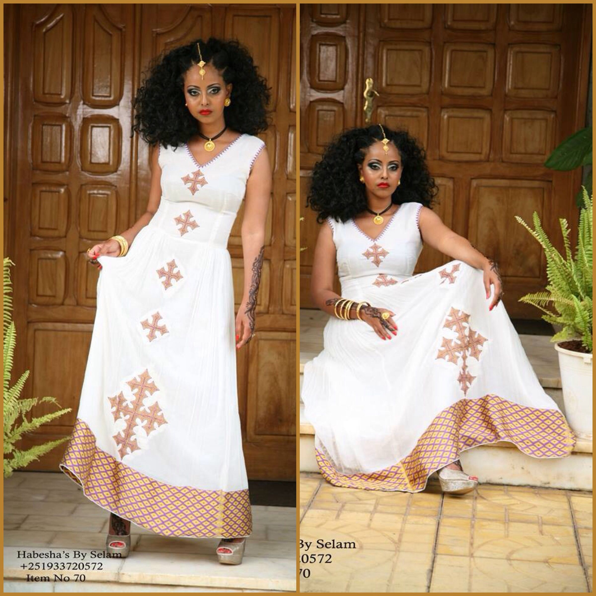 Habesha bySelam | traditional dresses | Pinterest