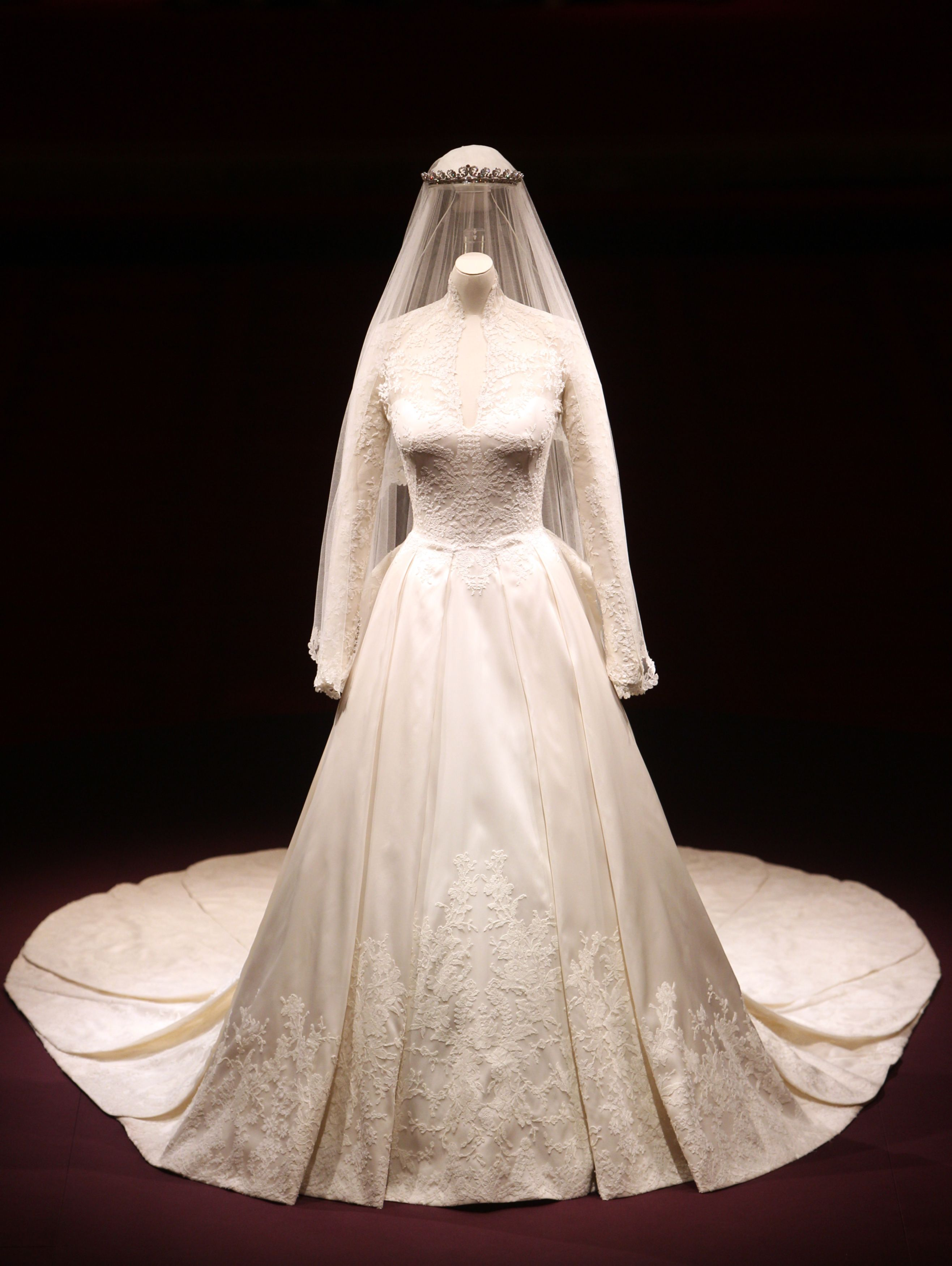 La robe de mariee de kate middleton