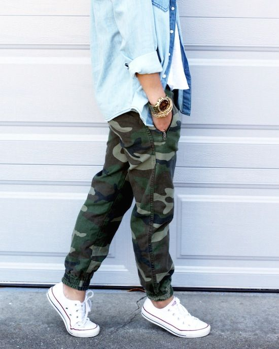 Love these camo joggers!