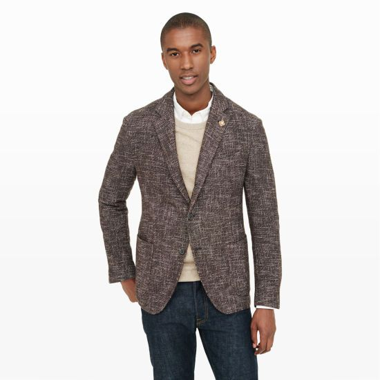 I love Tweed jackets.  With or without a tie.  With a light sweater underneath, they are the perfect fall look.