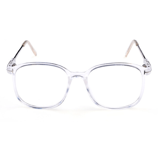 0fe02e767b itGirl Shop SQUARE TRANSPARENT CLEAR FRAME PLASTIC GLASSES Aesthetic  Apparel