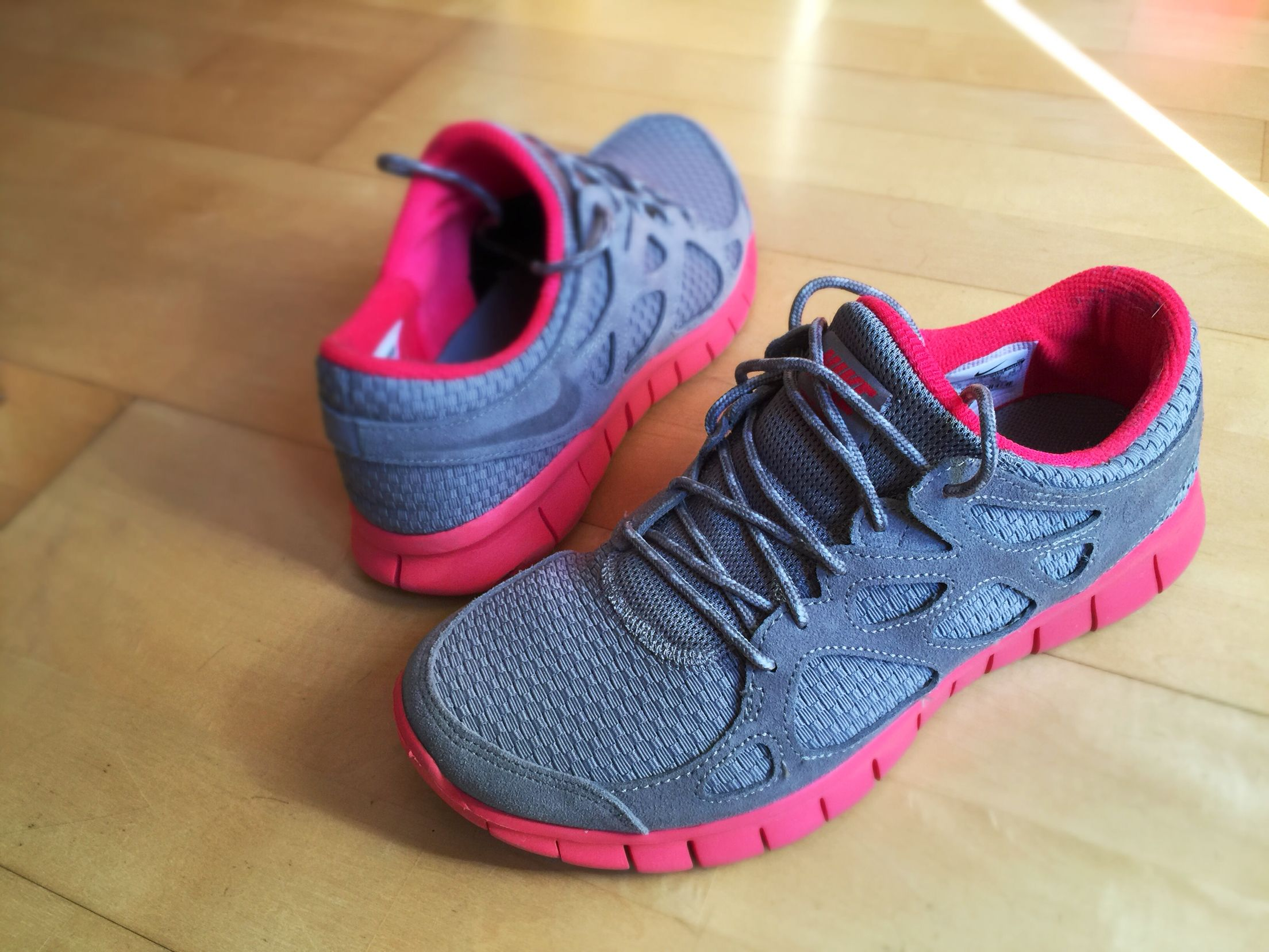 Nike Free love the color combination and the fabric texture!