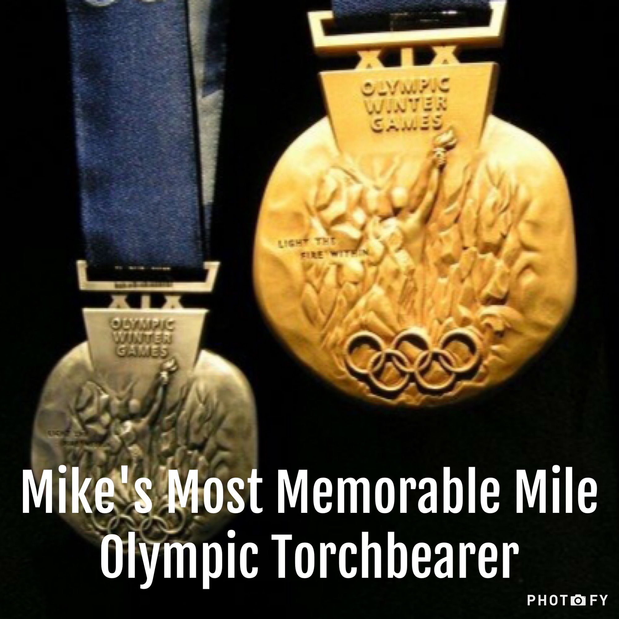 Olympic Torchbearer - Mike's Most Memorable Mile #run #running #runner #olympics #olympictorchbearer #torchbearer #casualrunner #teamcasualrunner #summerolympics #winterolympics