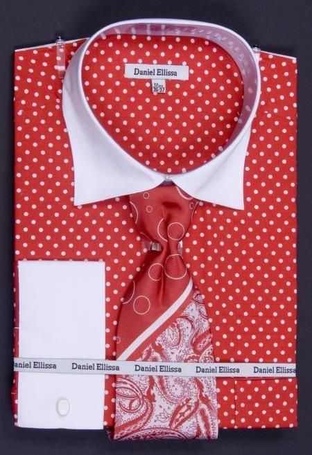 Red Cuff Dress