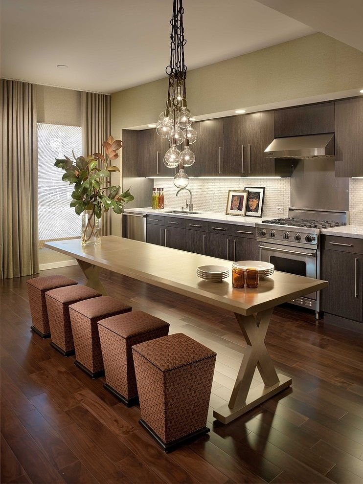 Kitchen Room Interior Design: Warm Modern Interiors By Kenneth Brown Design
