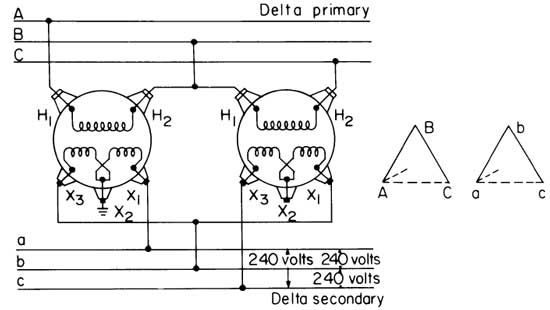 Transformer Wiring Diagrams Three Phase