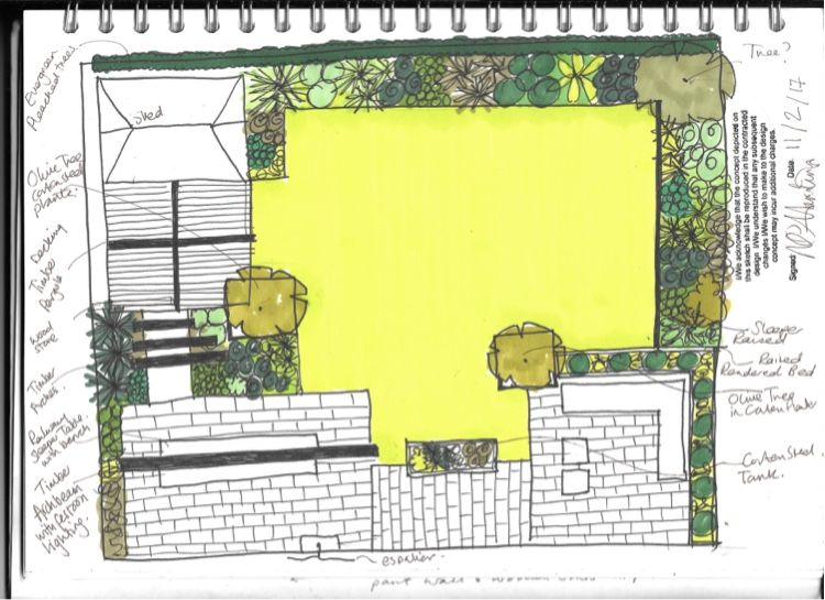 Earth Designs Are Called In By A Family In Need Of A Billericay Garden Design Earth Designs Urban Garden Design Garden Design Home Garden Design