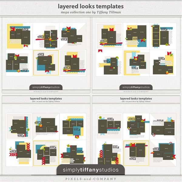 Layered Looks Templates Mega Collection One