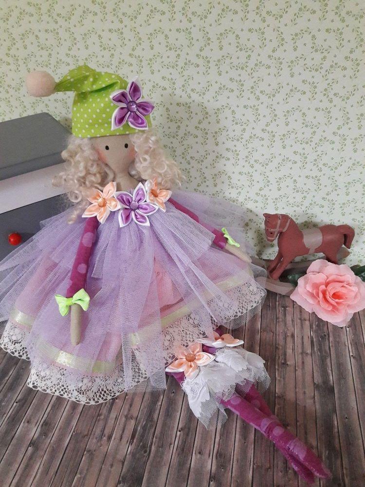 Traum Tilda Wichtel Mädchen Sweet Doll Puppe Stoff Deko Shabby ...