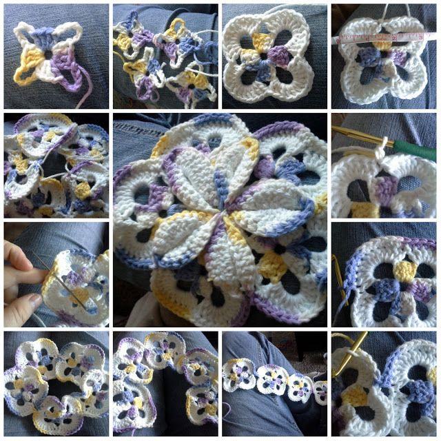 Daughterofanace - Crochet for Life!: Starburst Hotpad Pattern