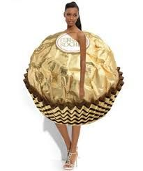 Kostüm Ferrero Küsschen
