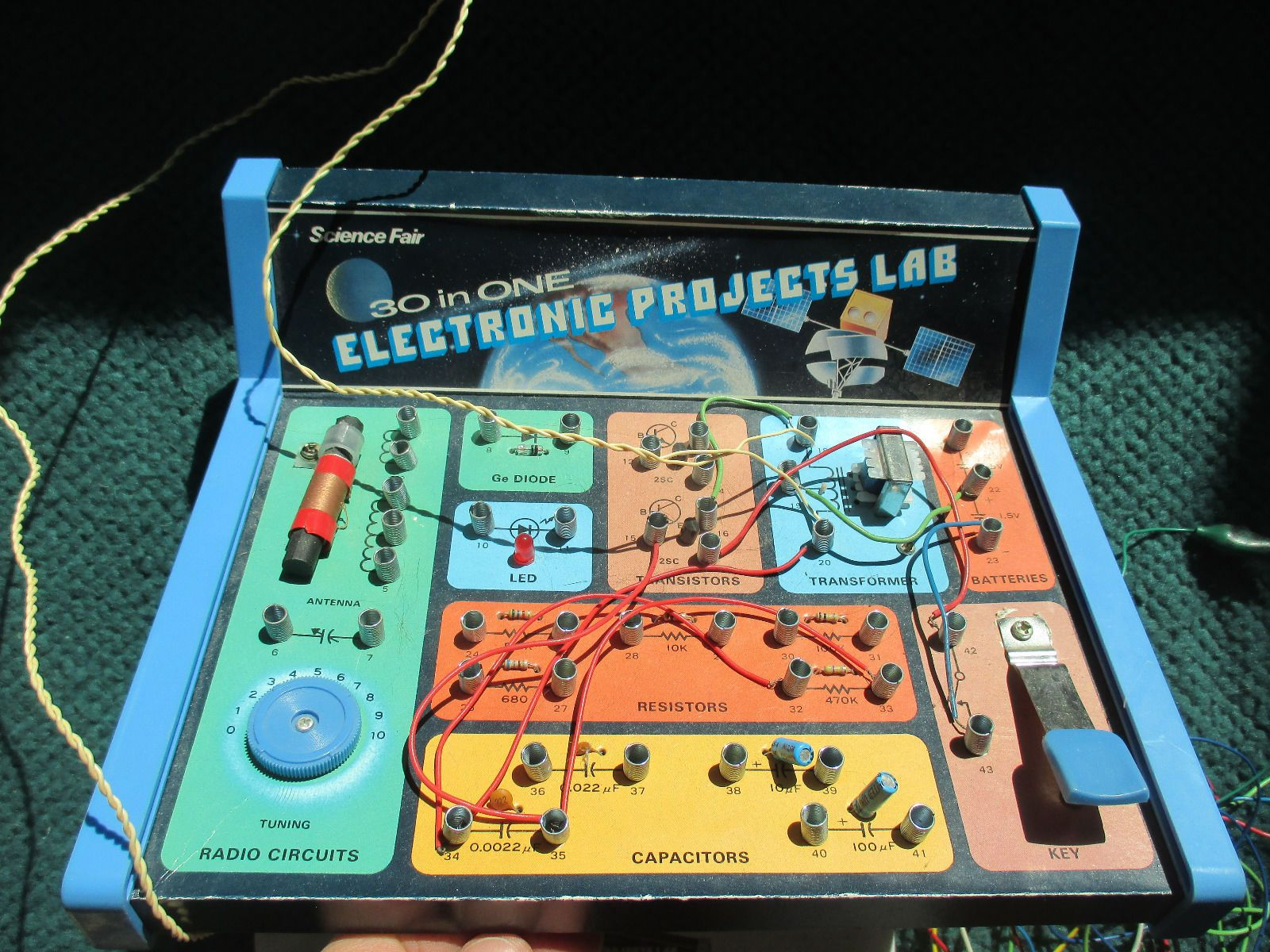 30 In 1 Electronic Projects Lab1982 Radio Shack Science Fair Has Snap Circuits Kit Education Set Game Toy Hobby New Ebay Instructions