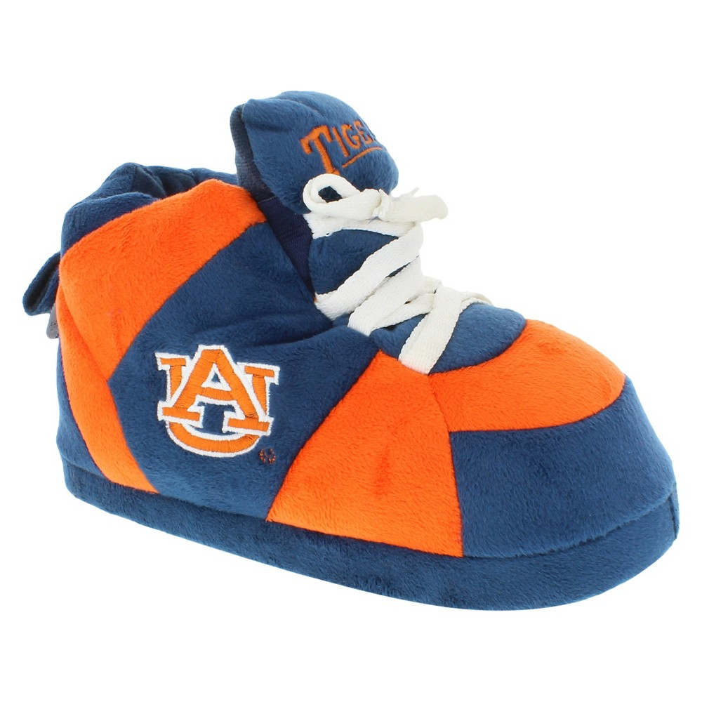 39daae038 NCAA Auburn Tigers Adult Comfy Feet Sneaker Slippers - Blue Orange S ...
