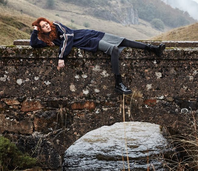 NatalieWestling and Edie Campbell Teamed Up for MANGO The Great Outdoors November 2016 Campaign #MANGOTheGreatOutdoors #Mango #AW16 LOOK___00003