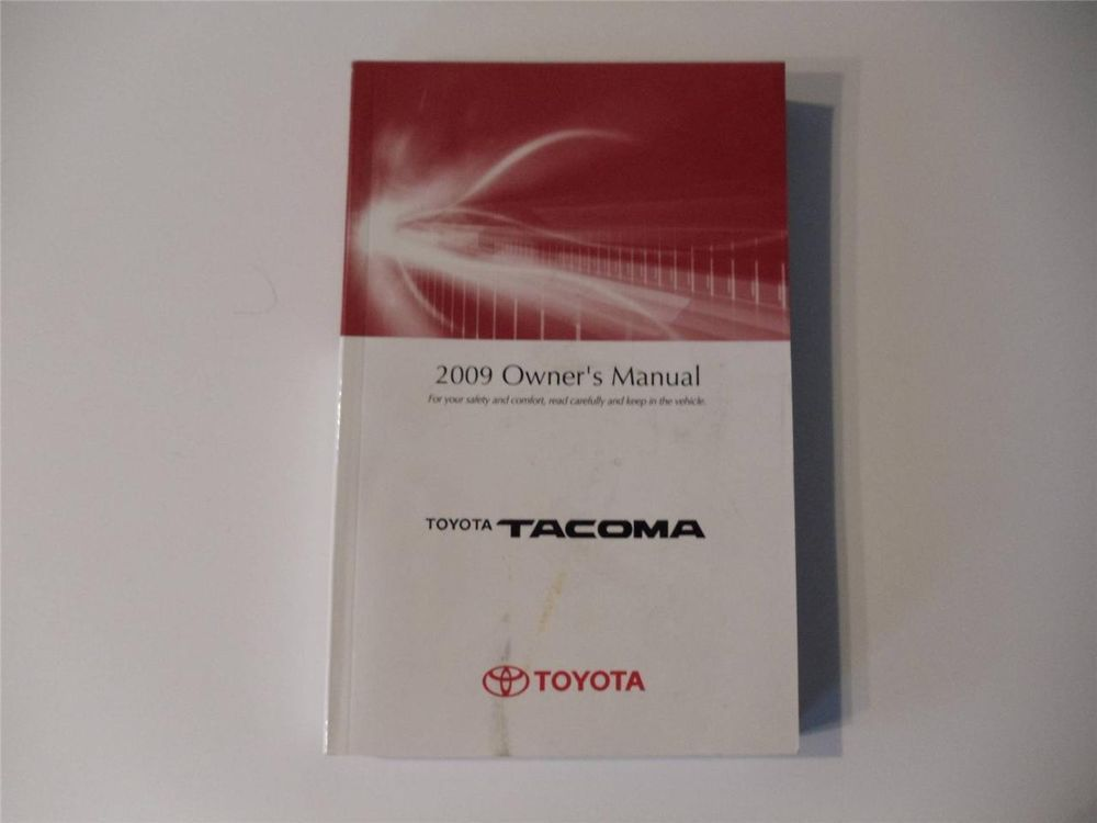 2009 toyota tacoma owners manual book owners manuals pinterest rh pinterest com 2009 toyota tacoma owners manual 2009 toyota tacoma owners manual pdf