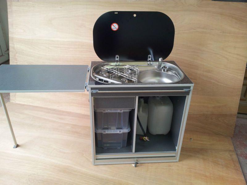 Removable cooker pod for camper van ideal for vw t4 t5 for Ruckfront kuche