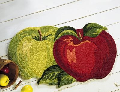 Apple Kitchen Rugs Cherrybrook Decorations For Decor Accent Throw Rug From Collections Etc