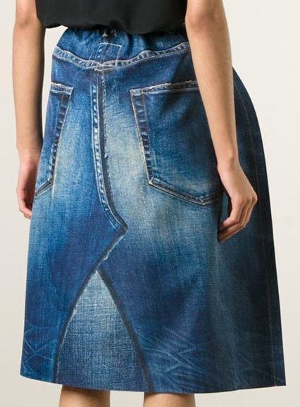 Джинсовые юбки от Junya Watanabe / Переделка джинсов / ВТОРАЯ УЛИЦА
