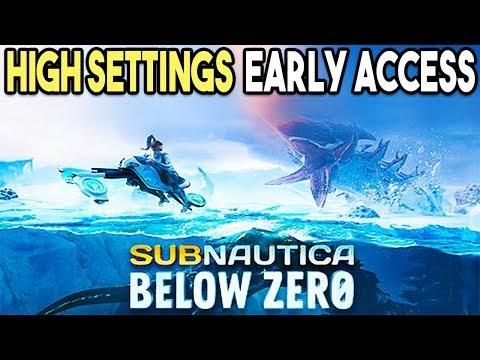 Subnautica Below Zero PC HIGH Settings 4K Gameplay