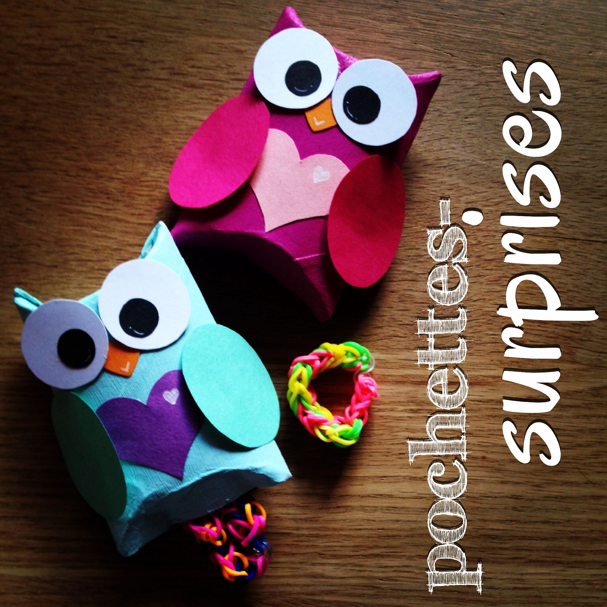 pochettes surprises hibou rouleau papier toilette diy enfants bricolage pinterest. Black Bedroom Furniture Sets. Home Design Ideas