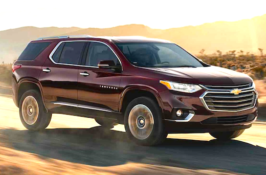 2018 Chevrolet Traverse Build And Price With Images Chevrolet Traverse Chevrolet Chevy