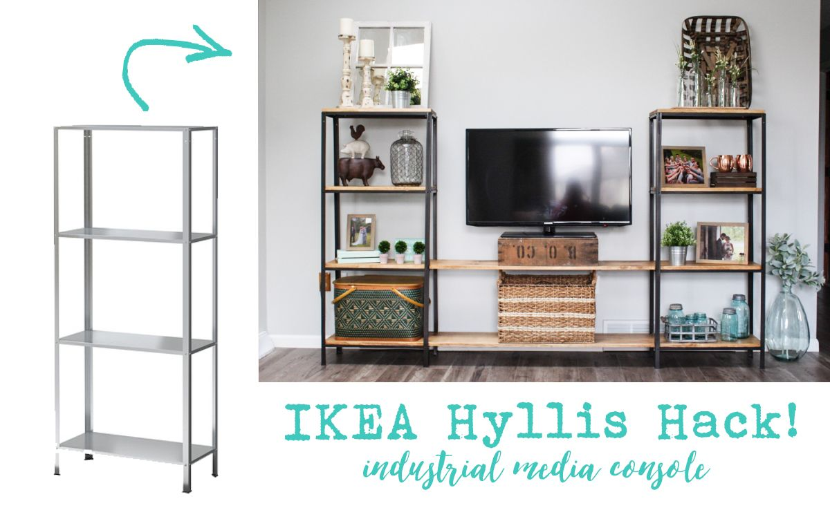 Küchenregal Ikea ~ Image result for hyllis ikea hack our small space