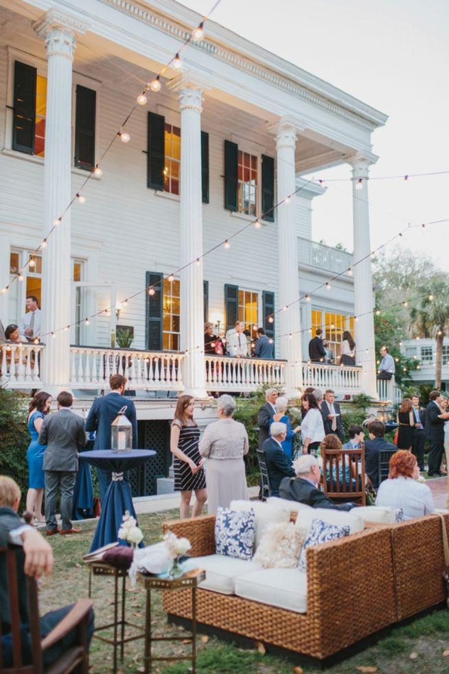 Kelly Michael The Wickliffe House Wickliffe Wedding Draping Charleston Wedding