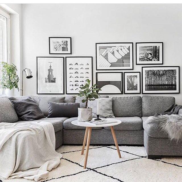 Scandinavian Home Decor: Home Living Room, Living Room Grey, Living