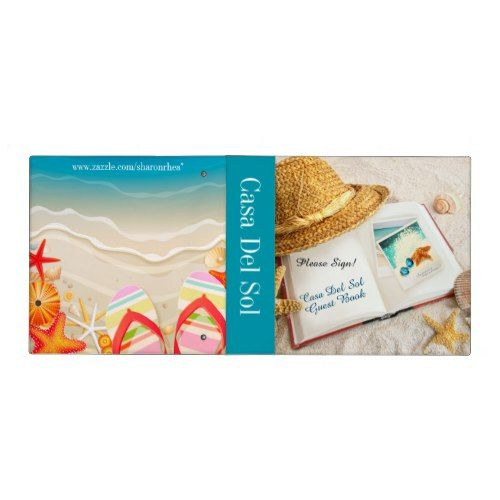 Beach Binder - Guest Book - Notebook