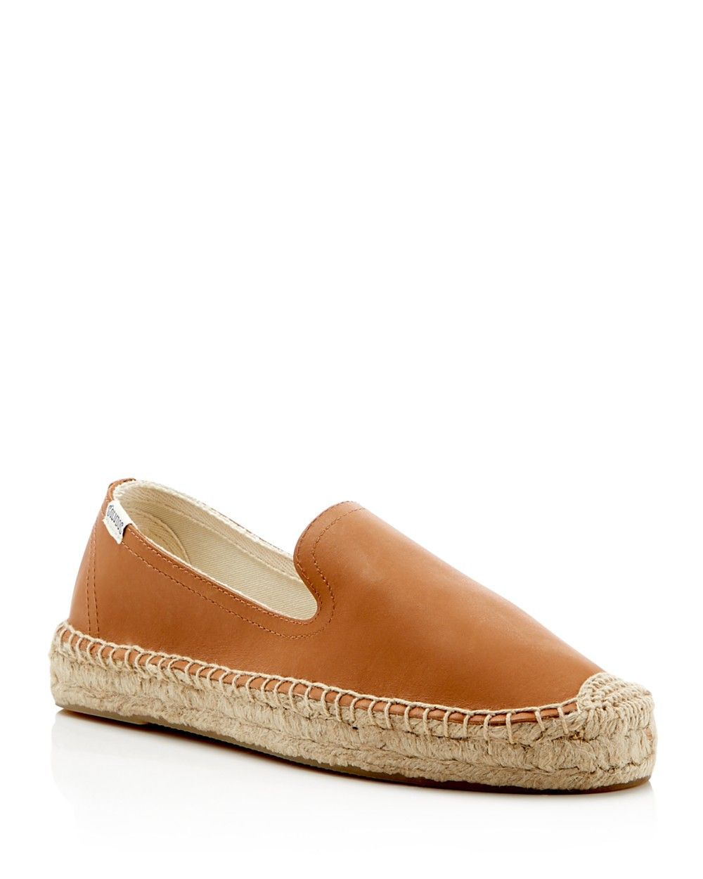 f66d888313c5 SOLUDOS Soludos Women s Leather Smoking Slipper Platform Espadrille Flats.   soludos  shoes