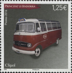 Wns Xd010 16 Clipol London Bus Stamp Bus