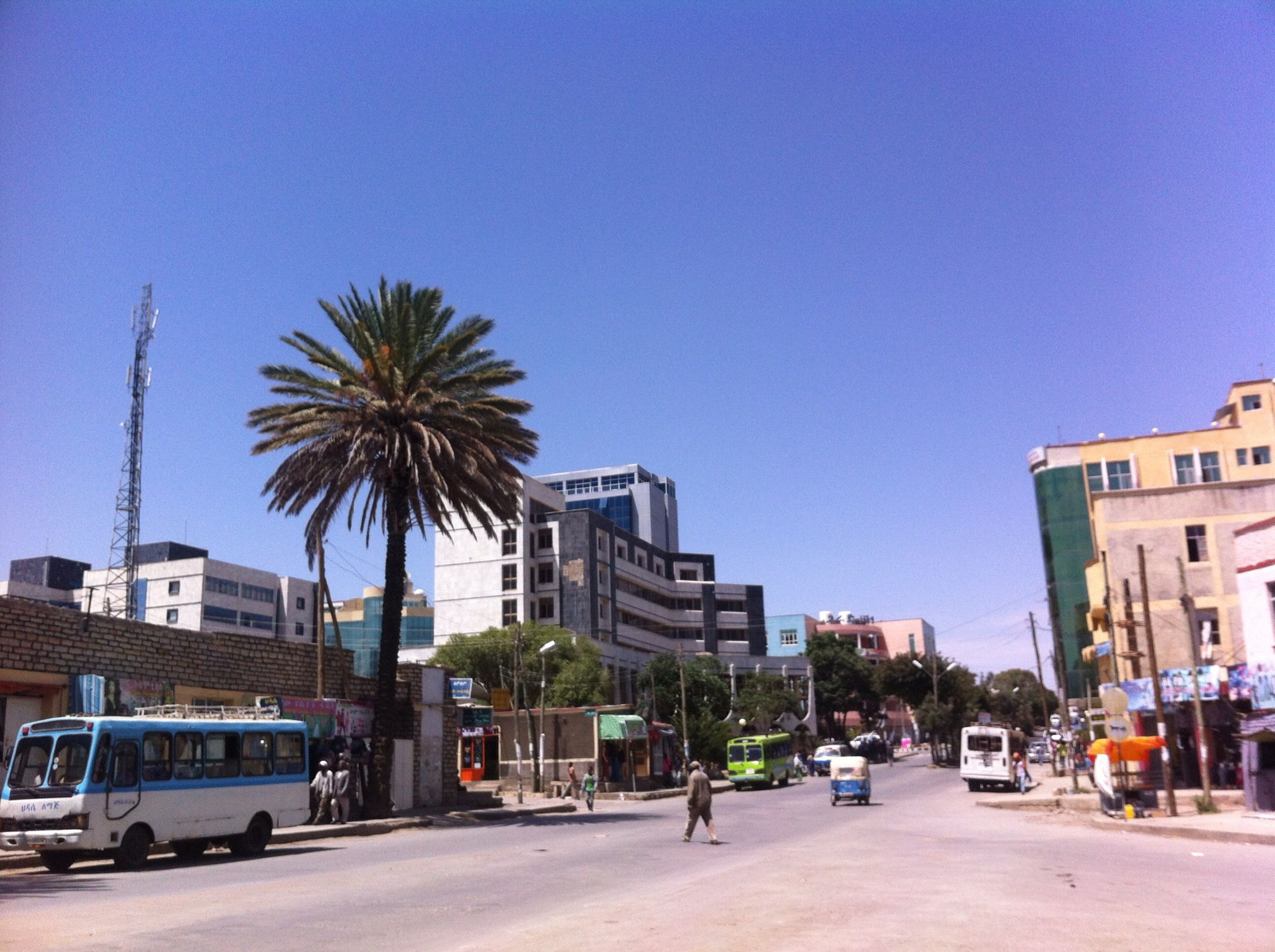 Downtown Mekele, Ethiopia | Beautiful places I have visited