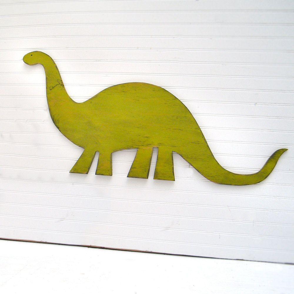 Brachiosaurus Large Dinosaur Sign Childrens Room Decor Nursery Dino ...