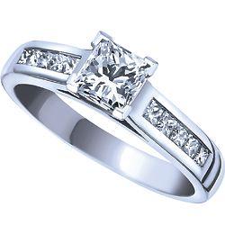 Ben Moss Jewellers 070 Carat Canadian Centre Diamond 14k White