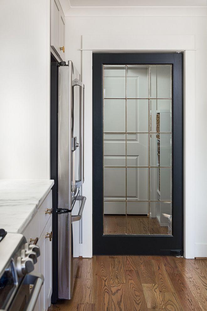 Best Pantry Door Kitchen Pantry Door Glass And Painted In Blue 400 x 300