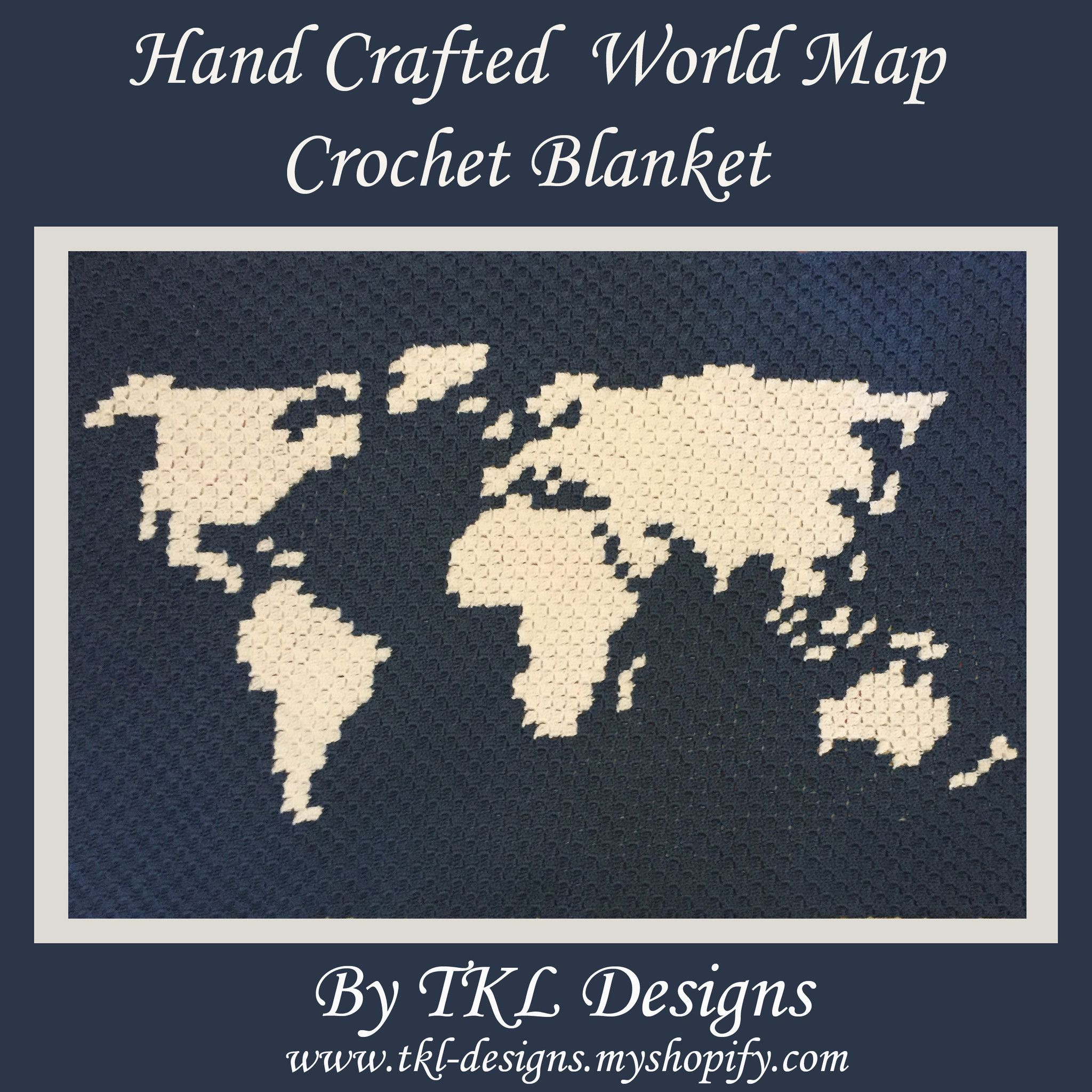 Hand crafted crochet world map blanket home decor aphgan throw hand crafted crochet world map blanket home decor aphgan throw c2c pixel gumiabroncs Image collections