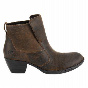 Women's BORN Tati Black Leather Shoes.com