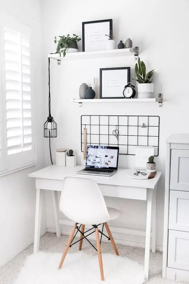 7 ideias de decoração com escrivaninhas pequenas