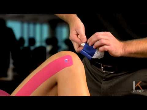 ▶ KT Tape: ITBS at Knee - YouTube