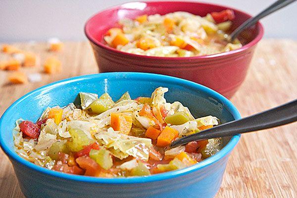 paleo cabbage soup diet recipe